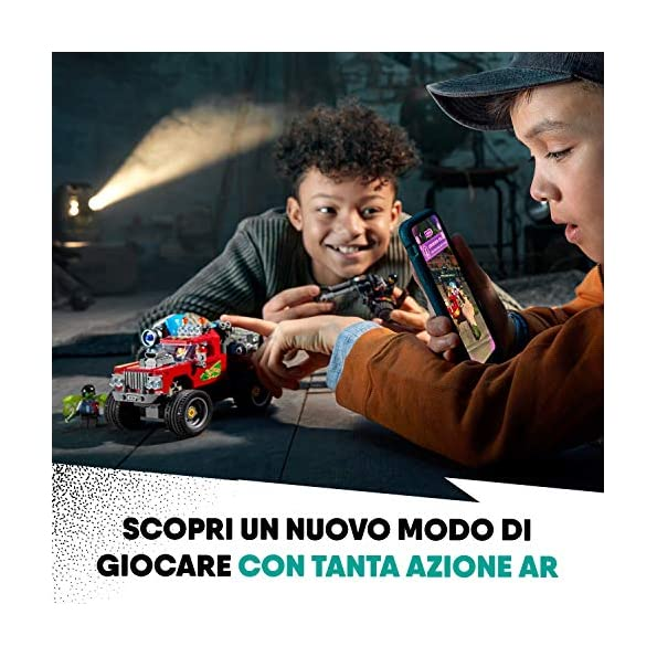 LEGO-Hidden-Side-Lo-Stunt-Truck-di-El-Fuego-Set-di-Costruzione-Set-per-la-Realt-Aumentata-per-iPhoneAndroid-70421