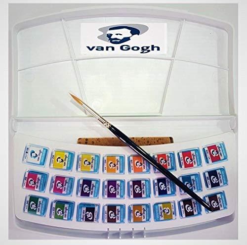 Estuche Pocket Box 24 Acuarela Van Gogh (Botanical Colors)