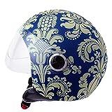 Helmet Dress Funda Casco Jet Moto Classic Blue