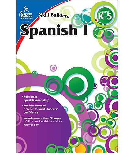 Carson Dellosa Skill Builders Spanish I Workbook