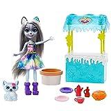Enchantimals, Muñeca con mascota Hawna Husky y Whipped Cream (Mattel GJX37)