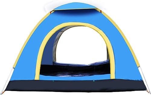 Byx- Tente Camping en Plein air Tente de Camping 3-4 Personnes InsTailletion Gratuite Deux Secondes Rapide Tente Ouverte 200x200x135cm -Tente Grand