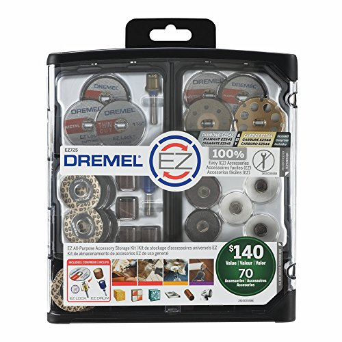 Sale!! Dremel EZ725 All-Purpose Accessory Storage Kit, 70-Piece