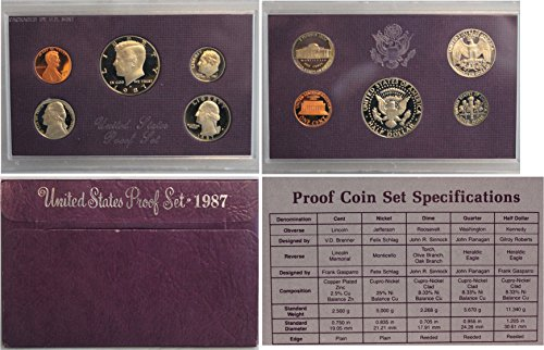 1987 S U.S. Proof Set in Original Government Packaging