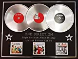 Everythingcollectible One Direction publicitario/Triple Platinum álbum/LTD. Edition/Up All Night + Take Me Home + Midnight Memories/COA