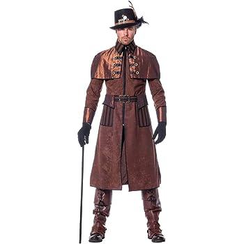 Steampunk Disfraces De Hombre Deluxe 54: Amazon.es: Juguetes y juegos