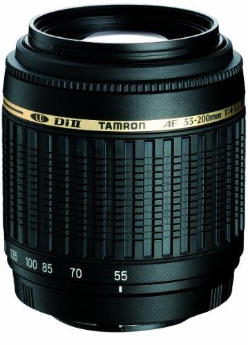 Tamron A15S AF 55-200 mm F/4-5.6 Di II LD Macro - Objetivo con Montura para Sony/Minolta (Distancia Focal 55-200mm, Apertura f/4-5.6, Macro) - Incluye Parasol