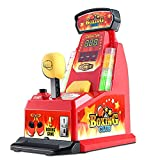 DTKJ Mini Finger Boxing Machine Toy,Children's Elastic King of Fighters Arcade Table Game Machine,Tricky Interactive Toy,Portable Handheld Game Machine, Suitable for Adults,Children,Birthdays