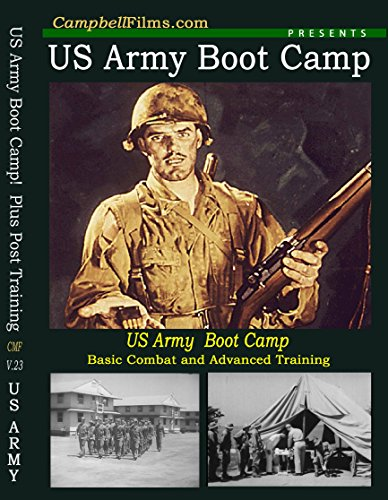 US Army Boot Camp WW2 Old Films Training DVD