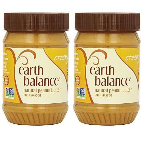 EARTH BALANCE - Peanut Butter-Creamy/Flaxseed