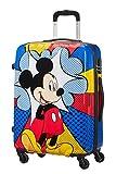 American Tourister Disney Legends - Spinner M Valigia, 65 cm, 62.5 L, Multicolore (Mickey Flash Pop)