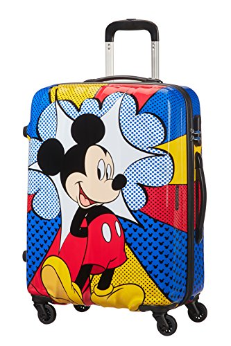 American Tourister Disney Legends - Spinner M Koffer, 65 cm, 62.5 L, Mehrfarbig (Mickey Flash Pop)