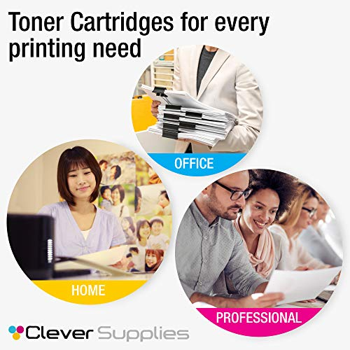 CS Compatible Toner Cartridge Replacement for HP M570dn CE400A Black CE401A Cyan CE402A Yellow CE403A Magenta HP Color Laserjet PRO 500 M570 M570DN M570DW M551DN M551N M551XH M575C 5 Color Set Photo #5
