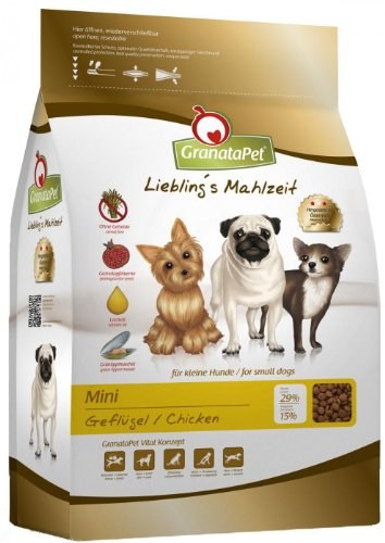 GranataPet Lieblings Mahlzeit Mini Adult Geflügel, 1er Pack (1 x 2 kg)