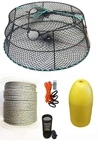 For Sale! KUFA Sports Tower Style Vinyl Coated Prawn Trap with Prawn Trap Accessory Combo (CT79+PHL3...