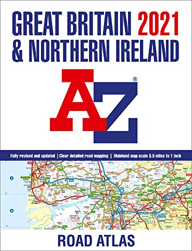 Great Britain A-Z Road Atlas 2021 (A3 Paperback)