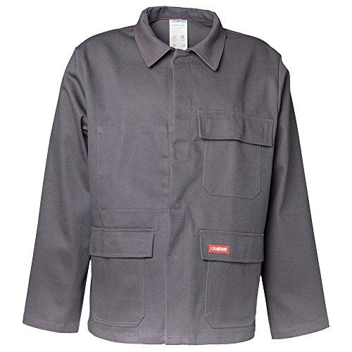 Größe 42 Herren Planam Hitze-/Schweisserschutz Jacke 400g/m² grau Modell 1713