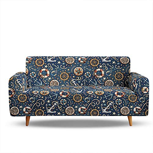 3D Digital Printing Sofa Slipcover,Sofa Cover High Elastic Stylish Modern Furniture Sofa Covers For Chair Loveseat Sofas,Easy To Install,Fit 1/2/3/4 Seater 4 Seater