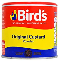 BIRD'S is the original custard brand, established in 1837 and loved by generations ever since Bird's