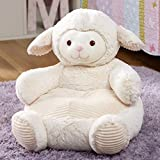 The Lakeside Collection Plush Stuffed Animal Chair for Children - Playroom Furniture -...