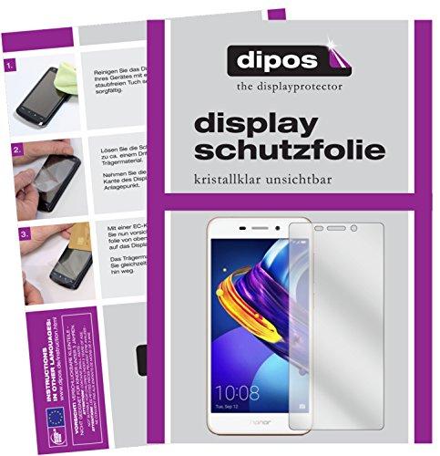 dipos I 2X Schutzfolie klar kompatibel mit Huawei Honor 6C Pro Folie Bildschirmschutzfolie