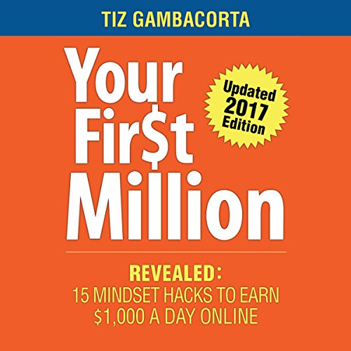 Your First Million audiobook cover art