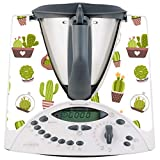 Thermodernizate.com - Adesivo in vinile per Vorwerk Bimby TM31, motivo: Cactus
