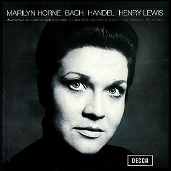 Marilyn Horne sings Bach & Handel