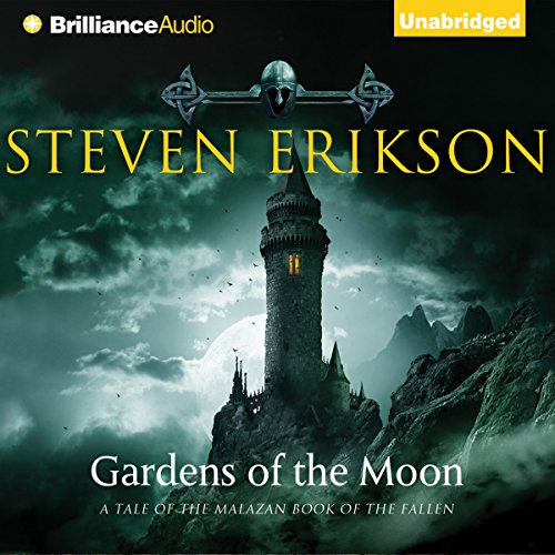 Gardens of the Moon     The Malazan Book of the Fallen, Book 1              Auteur(s):                                                                                                                                 Steven Erikson                               Narrateur(s):                                                                                                                                 Ralph Lister                      Durée: 26 h et 3 min     111 évaluations     Au global 4,6