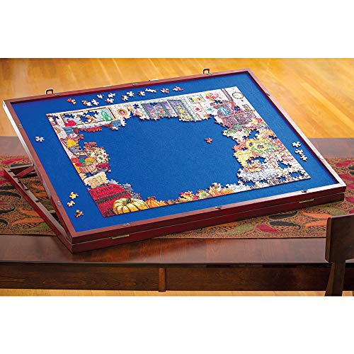 Bits and Pieces -Puzzle Expert Table Top Easel - Adjustable Plateau w/Felt Top