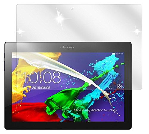 dipos I 2X Schutzfolie klar kompatibel mit Lenovo Tab 2 A10-70 Folie Bildschirmschutzfolie