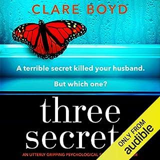 Three Secrets audiobook cover art