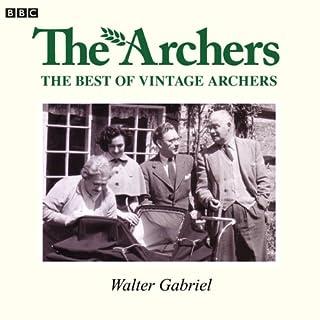 Vintage Archers: Walter Gabriel cover art