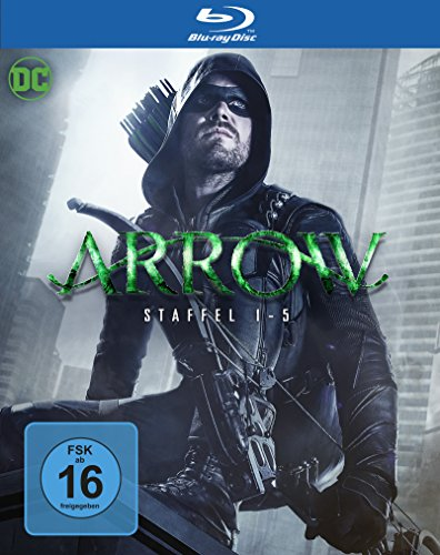 Arrow: Die kompletten Staffeln 1 - 5 (Limited Edition exklusiv bei Amazon.de) [Blu-ray]