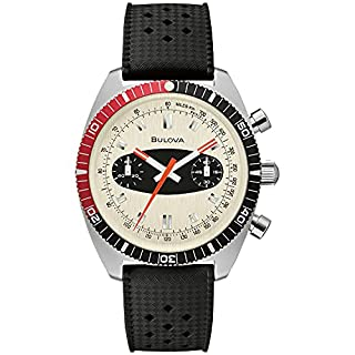 Bulova Men's Stainless Steel Quartz Dress Watch with Silicone Strap, Black, 20 (Model: 98A252) (B084HBFL7K) | Amazon price tracker / tracking, Amazon price history charts, Amazon price watches, Amazon price drop alerts
