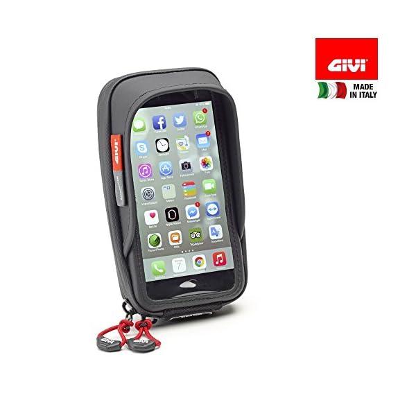 Givi-S957B-Support-tanche-de-Smartphone-pour-Guidon-de-Moto-pour-iPhoneGalaxy