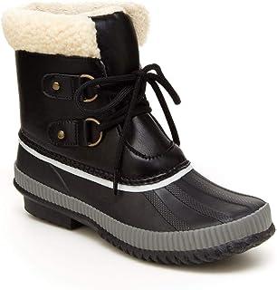JBU by Jambu Women's Cleveland Waterproof Snow Boot, Black, 9.5