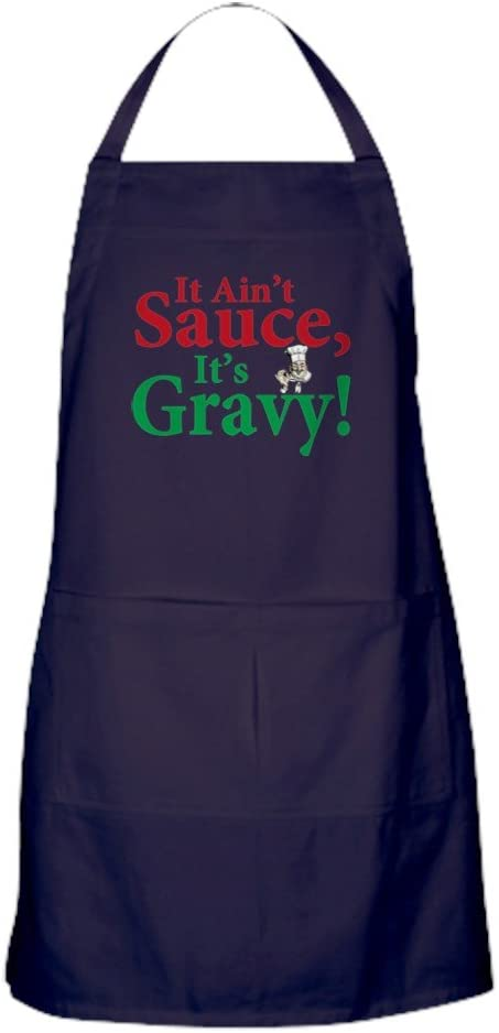 CafePress It Ain't Sauce It's Dark w Apron Limited time cheap sale Kitchen Gravy New Shipping Free