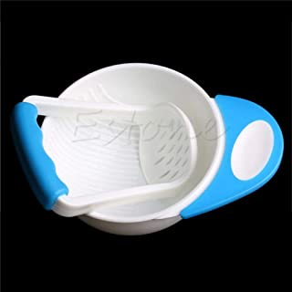 YAS Baby Kids Food Dishes Grinding Bowl Baby Children Handmade Grinding Supplement Infant Food Mill Bowl As The Picture-1