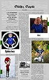 The Glitchez Gazette: Jax's Movie Journeyer Tale of Spiderboy (English Edition)