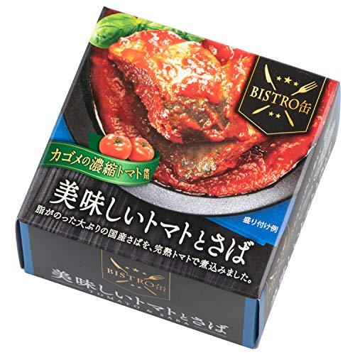 信田缶詰 BISTRO缶 美味しいトマトとさば 180g ×12個