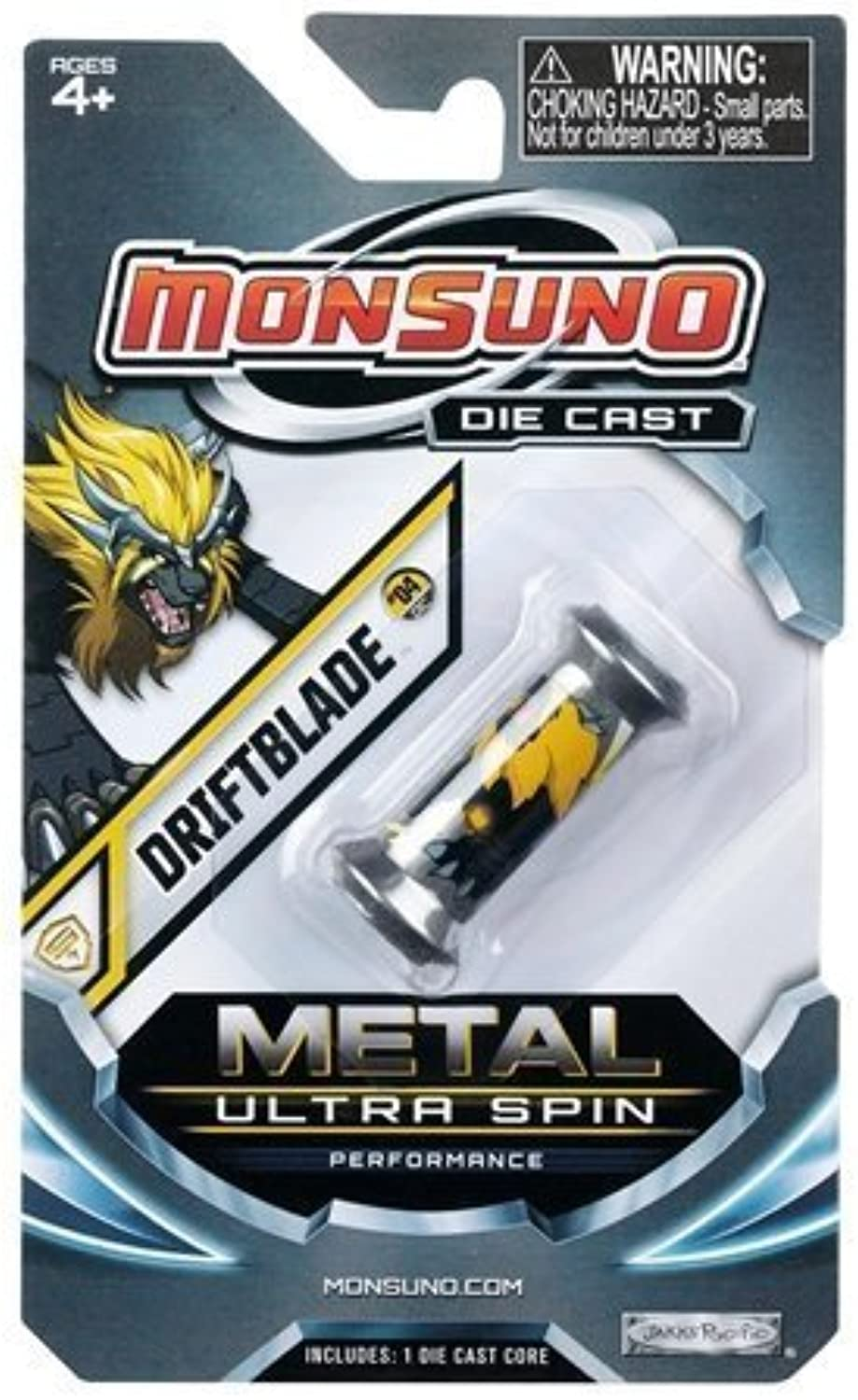 Monsuno Die Cast Metal Ultra Spin Core Driftblade by Jakks Pacific