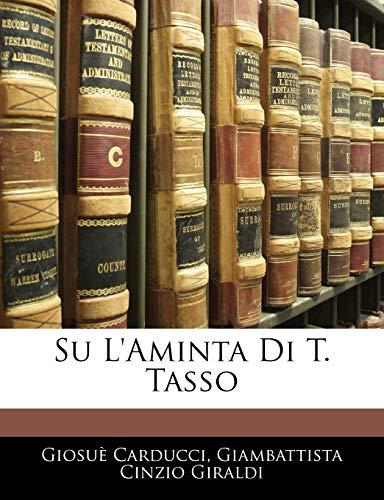 Su L'Aminta Di T. Tasso (Italian Edition)