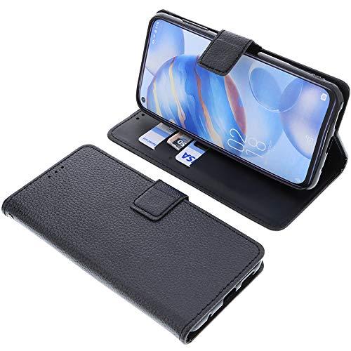 foto-kontor Tasche für Oukitel C21 Book Style schwarz Schutz Hülle Buch