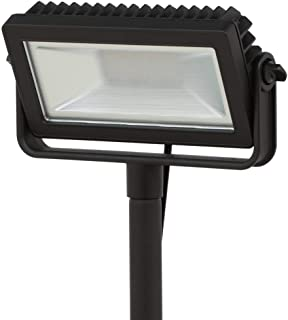 HB-101 Hampton Bay Low Voltage Black Outdoor Integrated LED Landscape Flood Light with 3 Levels of Intensity