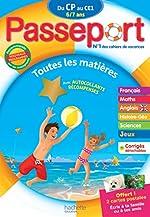 Passeport Du CP au CE1 - Cahier de vacances de Philippe Bourgouint