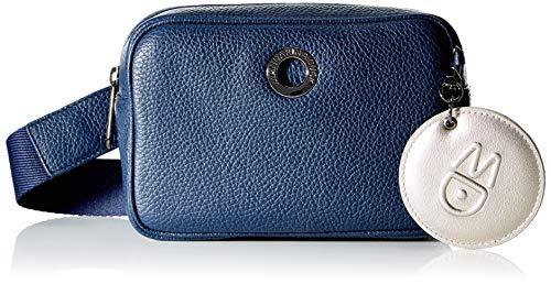 Mandarina Duck Damen MELLOW LEATHER Handtasche, Kleid Blau, Taglia Unica