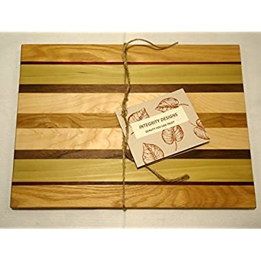 Integrity Designs Hardwood Butcher Block Cutting Board
