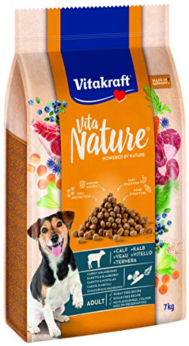 Vitakraft Vita Nature Kalb mit Karotten / Blaubeeren, 7 kg
