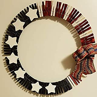 Best clothespin wreath patriotic Reviews